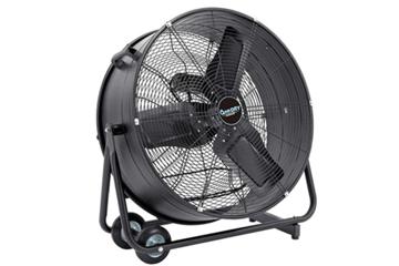 промышленные вентиляторы использують для ускорения сушки помещений после ремонта