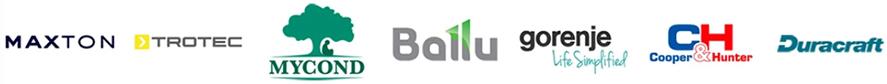 производители осушителей воздуха trotec mycond qlima ballu cooperhunter duracraft gorenje